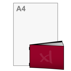A6 Brochure liggend 148x105 mm