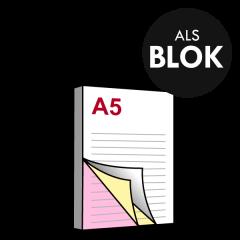 A5 Doordrukblok 3voudig 148x210 mm