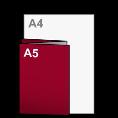 Folder Drieluik A5