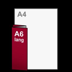 Folder Drieluik A6 lang