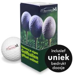 Golfballen Giftset - 3 ballen inclusief doosje