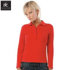 Dames Polosweater Safran