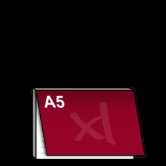 A5 Notitieblok met dekblad liggend 210x148 mm