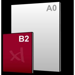 B2 Reclamebord 500x700mm