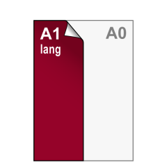 A1 lang Stickers 420x1188 mm