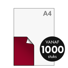 A6 Stickers drukken 105x148 mm