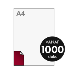 A8 Stickers drukken 52x74 mm