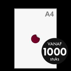 Sticker drukken - Rond klein ø50 mm