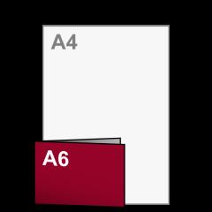 Uitnodiging A5 lang naar A6