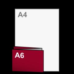 Uitnodiging Drieluik A6 liggend